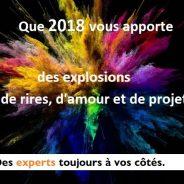 Meilleurs voeux 2018!