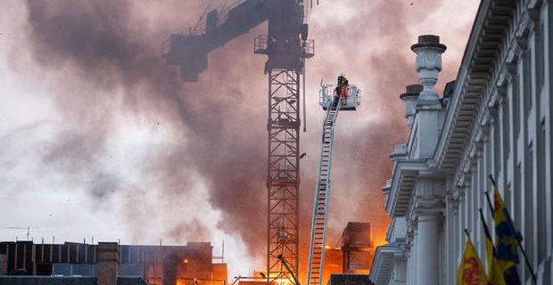 CHANTIER DE CONSTRUCTION: une phase critique en matière de risque incendie!