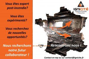 Recrutement expert post incendie ignicité
